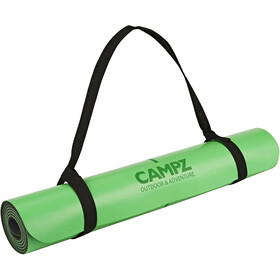 CAMPZ PU Position Line Joogamatto, green